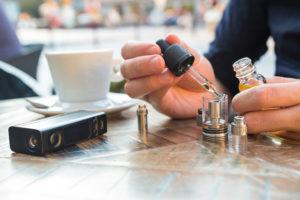 remplissage clearomiseur cigarette électronique