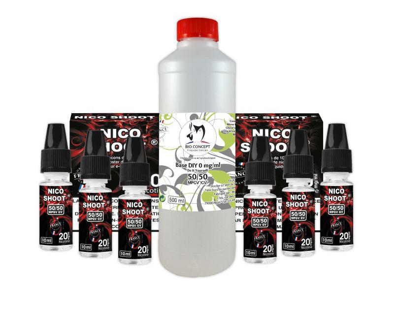 Pack e liquide DIY Bioconcept