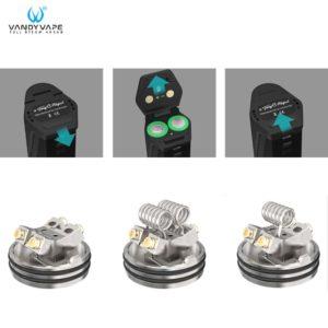 énergie accus kit pulse dual vandy vape